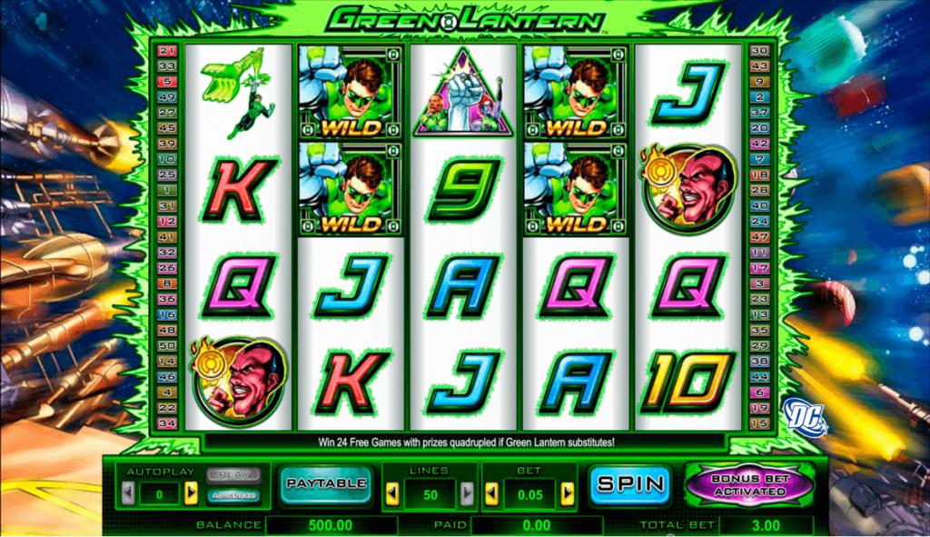 4 Winning Directions Slot Machine